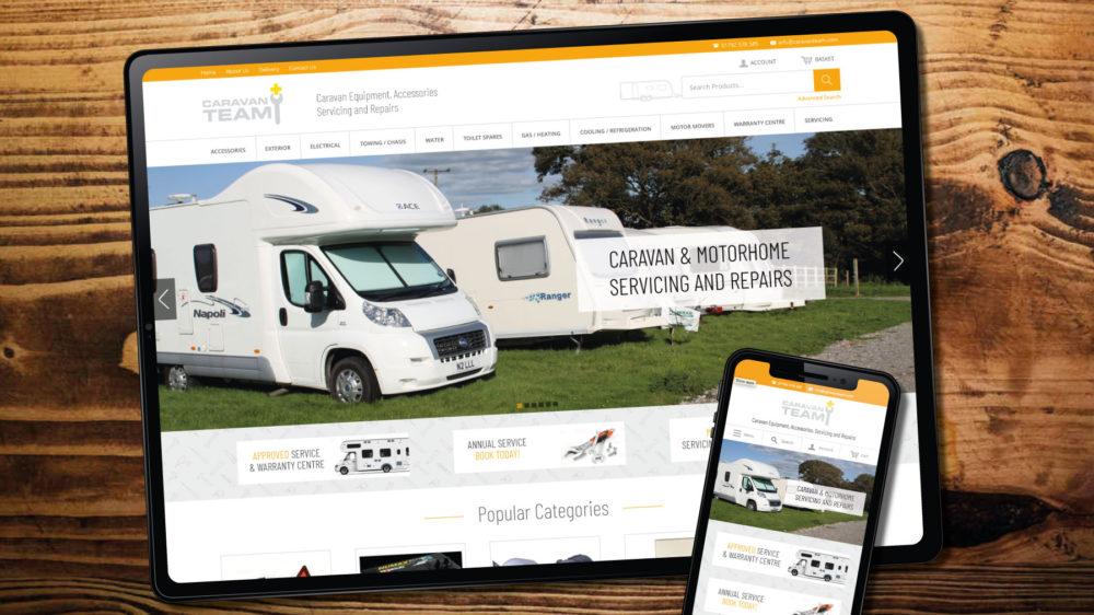 Caravan Services Web Design