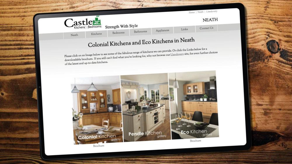 Kitchen Supplier Web Design