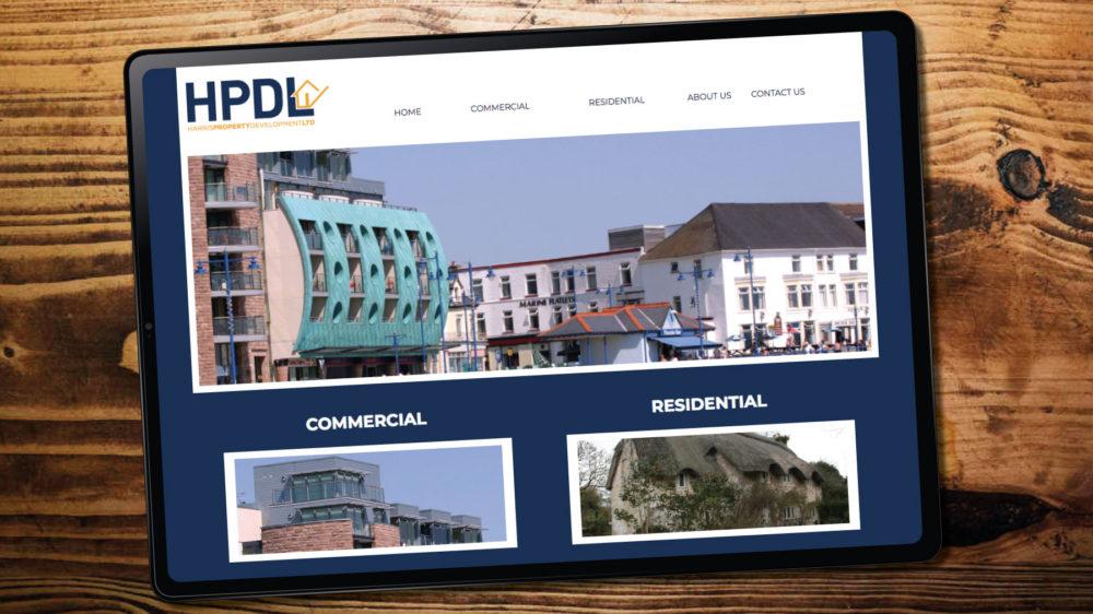 web design for property developer in Bridgend