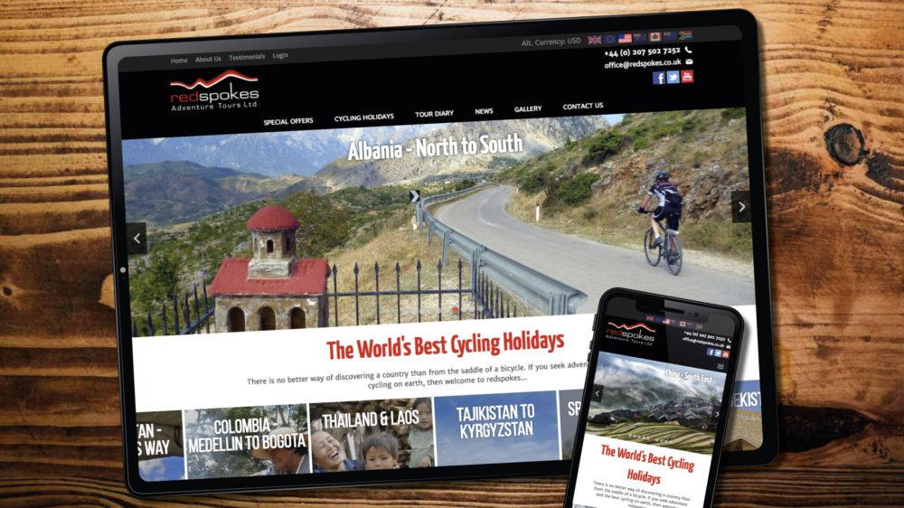 redspokes cycle web designer