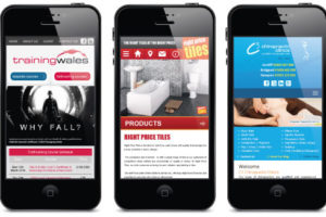 Mobile friendly websites designed for phones and tablets