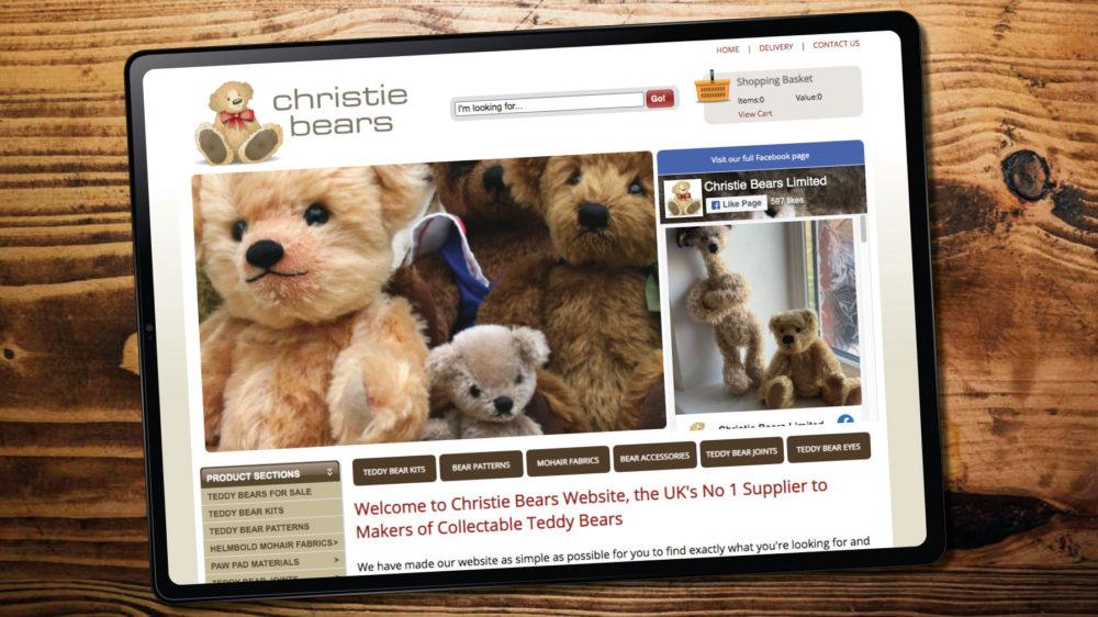 Teddy Bear Making eCommerce Website Designers