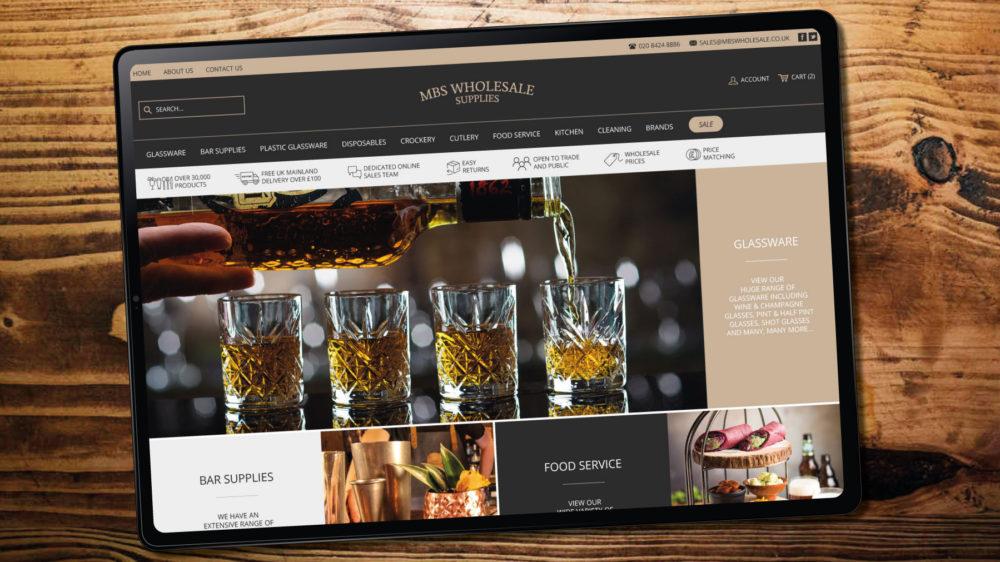 Catering Magento theme web designer