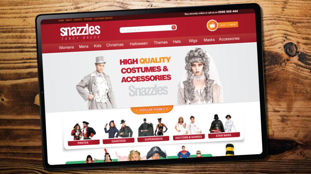 Fancy Dress Magento Ecommerce Web Designer in Swansea